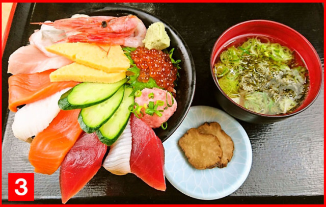 海鮮丼(画像)